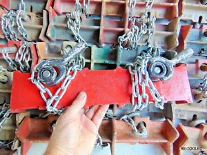 Welding Pipe Clamp Chain Vice Jewel No 1d Pipe Welding Clamp Straight 15 Long