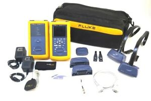 Fluke Dsp 4300 Digital Cable Analyzer And Dsp 4300sr Accessories