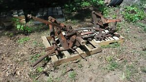 Allis Chalmers D 10 Tractor Front Cultivators For Parts Or Restore See Details