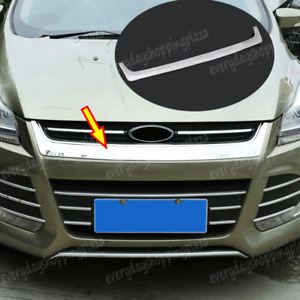 Abs Car Front Hood Bonnet Grille Cover Mesh Trim For Ford Escape Kuga 2013 2016