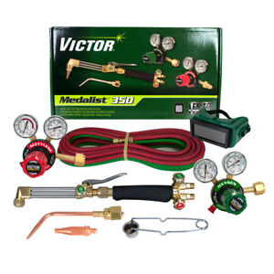 Victor 0384 2691 Medalist 350 540 300 Acetylene Cutting Torch Outfit