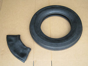 New 5 50 16 Tri Tread Front Tire Innertube Ih Farmall 300 5 50x16 5 50x16