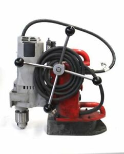 Pre owned Milwaukee 4202 Electromagnetic Variable Speed Magnetic Drill Press
