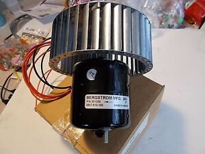 Bergstrom 201330 12v 24 Dc Bus Motor 82 06324 000 Squirrel Cage Heat Fan Blower