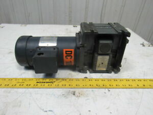 Torqube Type Qc 40 1 Ratio 43075rpm 1 2hp 180v Dc Gear Motor Speed Reducer