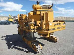 1983 Gomaco Gt6200 Crawler Curb Machine Slip Form Concrete stock 2359