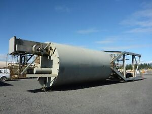 150 Ton Portable Concrete Silo W Stand Conveyor stock 2417