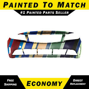 New Painted To Match Front Bumper Cover Fascia For 2017 2018 Kia Forte Sedan 4dr