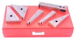 6 Piece Tangent Bar Angle Block Set 3402 0962