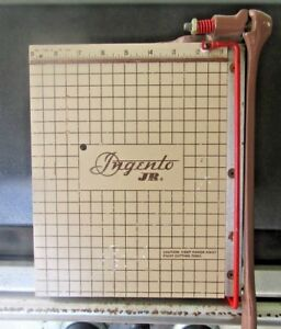 Vintage Ingento Jr Paper Cutter Junior Model No 1122 Antique Rare