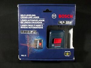 Bosch Self leveling Cross line Laser gll 2