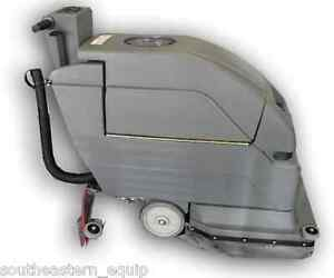 New Ses Corded 2001 Disk 20 Floor Scrubber W xtreme Recovery Squeegee System