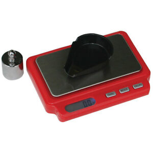 MTM DS750  Mini Digital Reloading Scale -(2) AAA batteries - Red