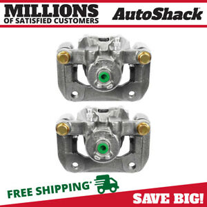 Rear Brake Caliper Pair For 1999 2007 2008 Acura Tl 2003 2011 Honda Element