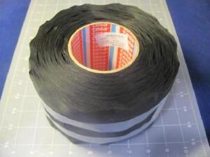 Case Of 6 Tesa 51026 100mm Black High Quality Pet Cloth Wire Harness Tape 164 Ft