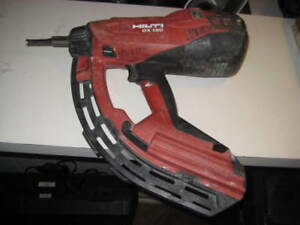 Hilti Gx 120 automatic Gas Actuated Nail Gun Fastening Tool
