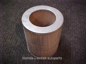 Nos 1957 Ford Thunderbird T Bird F Model Supercharger Air Cleaner Element