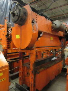 100 Ton Rousselle Straight Side Double Crank Metalworking Press Inv 5200 Used