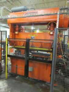 60 Ton Verson Double Crank Gap Frame Metalworking Press Inv 5205 Used