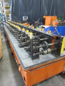 22 Stand Tru Tech Roll Former Sheet Metal Machinery Planet Machinery Inv 5196