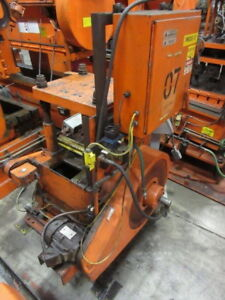 40 Ton Yoder 4 post Cut off Press Metalworking Manufacturing Stock 5207