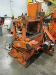 50 Ton Yoder 4 post Cut off Press Metalworking Manufacturing Stock 5208