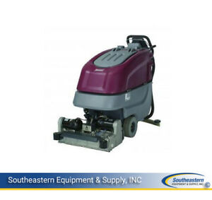 New Minuteman E24 Cylindrical Automatic Scrubber No Batteries