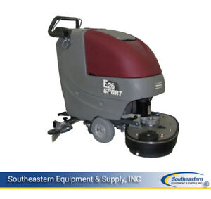 New Minuteman E26 Eco Sport Disc Brush Automatic Scrubber quick Pack agm