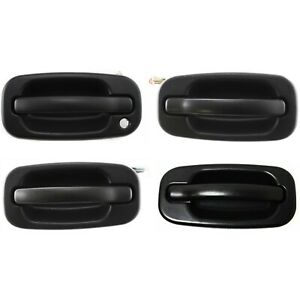 Exterior Door Handle For 2004 2006 Chevrolet Silverado 1500 Set Of 4