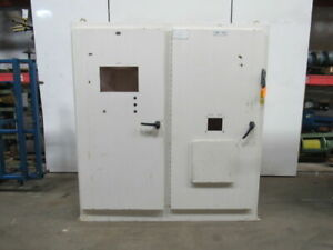 Klassen Jic Electrical Enclosure Box Cabinet 84x78x18 60a Disconnect Back Plate