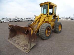 John Deere 544b Wheel Loader Farm Ranch Enclosed Cab stock 2380