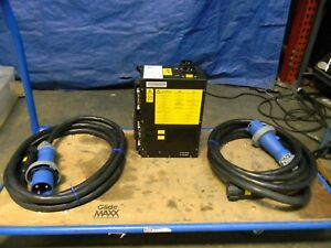 Ibm Delta Automatic Transfer Switch W 2 Plug Cables 200 240 Volts Ats 60a