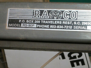 Ramco Horizontal Metal Band Saw