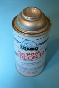 1 Can Dupont Ig lo R12 R 12 Refrigerant Freon Ac 14oz Can Usa Made Vintage Cars