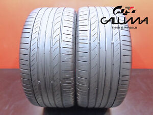 2 Continental 255 40 18 Contisportcontact 5 95y Runflat Tires Technology 47334