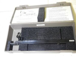 Spi Shallow Test Gage For Use With Test Indicator 0 05 0 5 Dpth Range 30 639 9