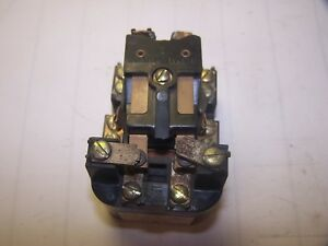 Ge General Electric 10 Amp Relay 115 Vac Cr2790 E100a16