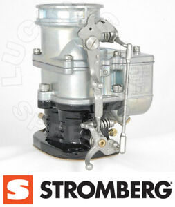 Genuine Stromberg Big97 Primary Carb Oe Finish Push Throttle 9510a big p lz