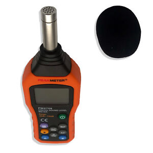 New Lcd Digital Audio Decibel Meter Sound Level Noise Level Meter Sound Monitor