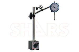 Shars Magnetic Base Heavy Duty Fine Adjustment 170 Lbs Indicator Holder New