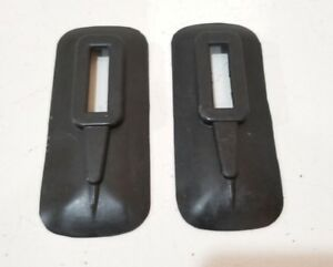 Chevrolet Chevy Gmc Pickup Front Bumper Brace Rubber Cover Set 1941 1946
