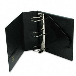 Heavy duty 4 inch D ring Binder With Label Holder