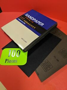 100xwet dry sanding Sheets 180 grit Silicon carbide 9x11 Waterproof Paper