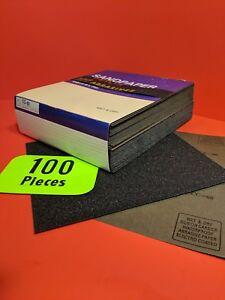 100 wet dry Sanding Sheets 60 Grit Silicon carbide 9x11 Waterproof Paper