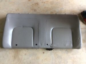 Vw 98 05 Beetle Hardtop Gray Grey Leather Rear Seat Upper Top Section Style 2