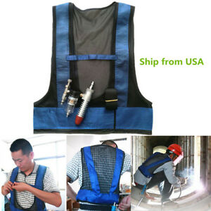 Comfort Air Cooling Waistcoat Vest Compressed Vortex Tube Welding Steel Usa Ship