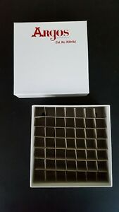 Cardboard Cryo Freezer Storage Boxes And Dividers Argos Technologies 35 New