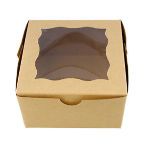 Spec101 Bakery Boxes With Window Cake Boxes Party Favor Boxes
