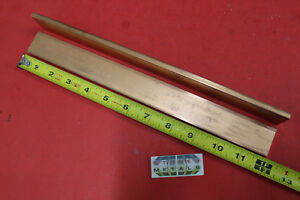 2 Pieces 1 4 x 1 1 4 C110 Copper Bar 12 Long Solid Flat Bus Bar Stock H02
