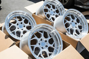 Used 18x9 5 10 5 Aodhan Ds01 5x114 3 22 Silver Rims Aggressive Fits 350z G35